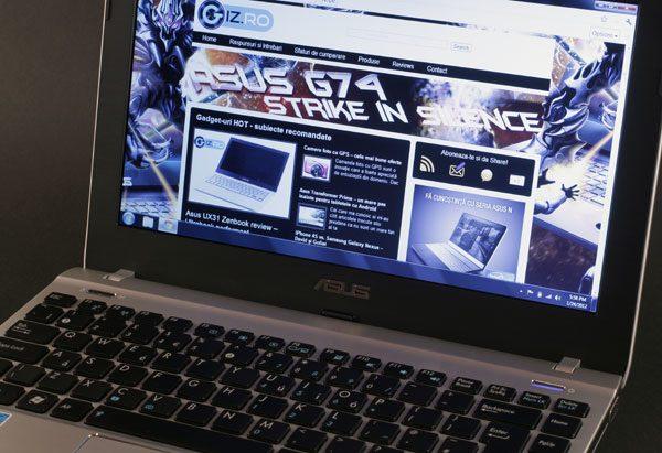 Asus-ul 1225B este un portabil de buget cu multe calitati