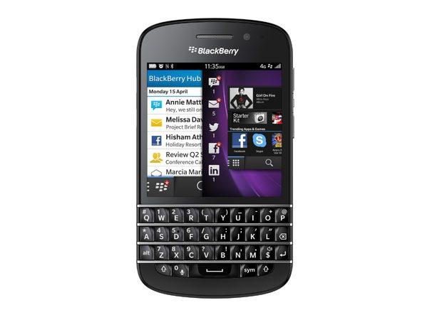 BlackBerryQ10, cel mai avansat telefon BlackBerry cu tastatura QWERTY