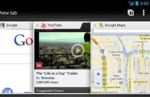 Chrome pentru Android poate fi utilizat si pe tablete