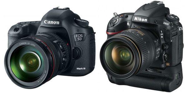 Canon 5D Mark III sau Nikon D800 – războiul DSLR-urilor de TOP