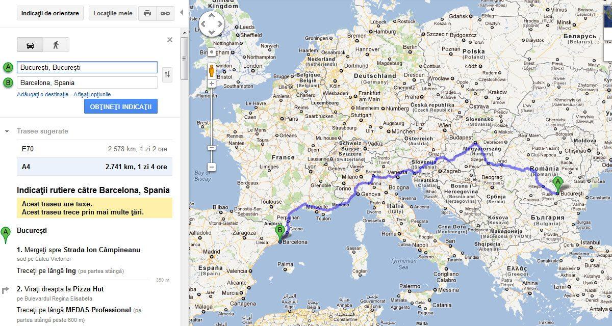Cum Să ţi Planifici Un Traseu Cu Google Maps Giz Ro