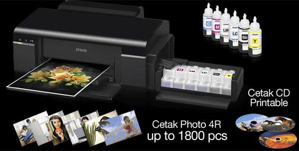 Epson L800 evidentiaza noua familie de imprimante CIS dedicate