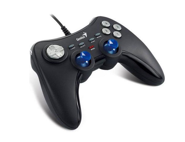 Genius Maxfire Grandias 12V, gampad util pentru jocuri de tip FIFA si NFS