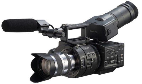 Sony NEX-FS700 poate realiza inregistrari video super slow-motion