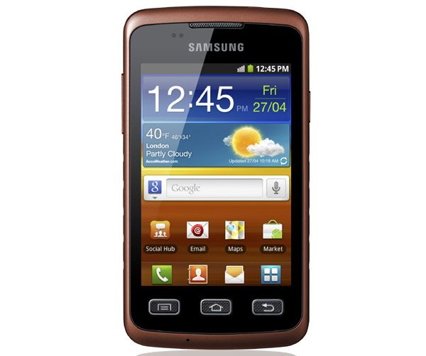 Samsung Galaxy Xcover – Smartphone Android rezistent la praf şi apă