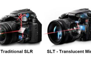 SLR vs SLT - o imagina face cat o mie de cuvinte