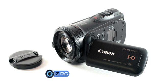 Canon HFG10 - Camera video isi arata puterile, insa dezamgeste atunci cand vine vorba de inregistrarea sunetului