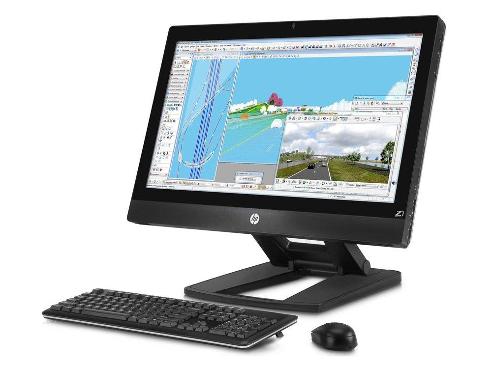 Ecranul de 27 inch, cu matrice IPS, este un important punct forte al Z1-ului