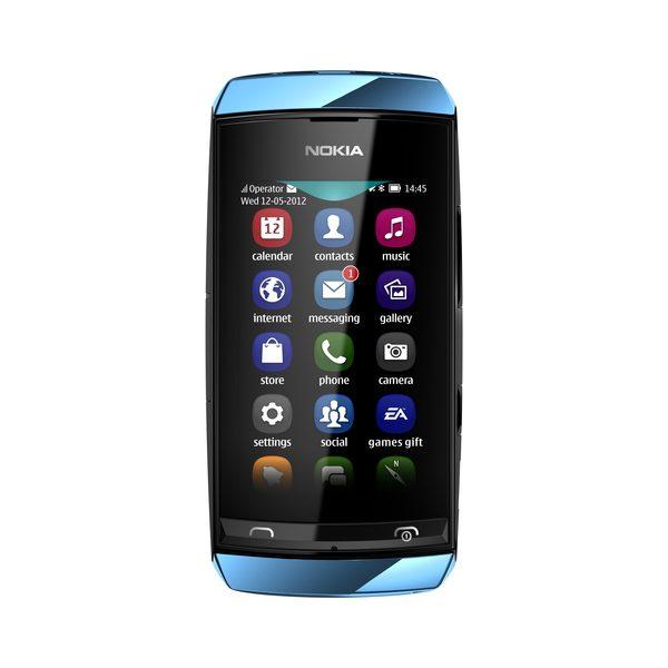 Nokia Asha 306 este asemanator cu Asha 306 in ceea ce priveste design-ul si specificatiile