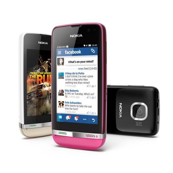 Nokia Asha 311 va veni cu aplicatia Angry Birds preincarcata