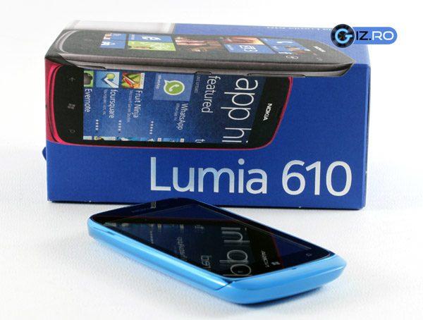 Nokia Lumia 610 - cel mai nou si cel mai ieftin membru al familiei Lumia
