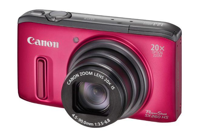 Canon PowerShot SX260HS vine si intr-o culoare de vara