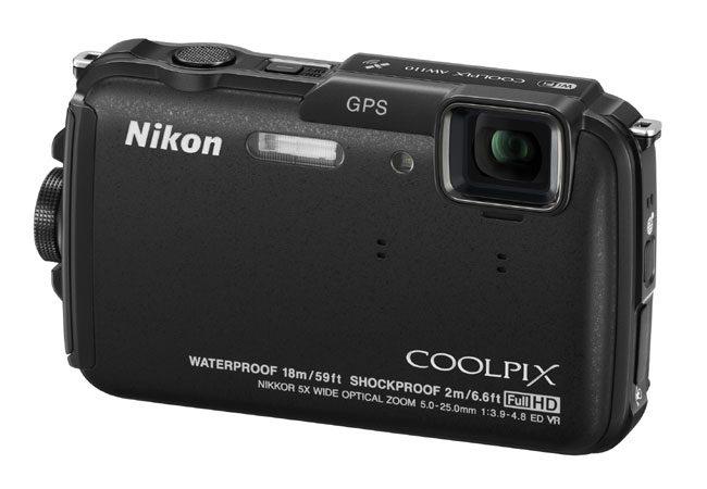 Coolpix AW110, camera propusa de Nikon pentru scufundari