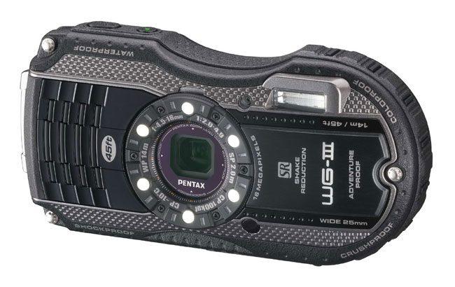 Pentax Optio WG-3, camera subacvatica cu cel mai inedit design