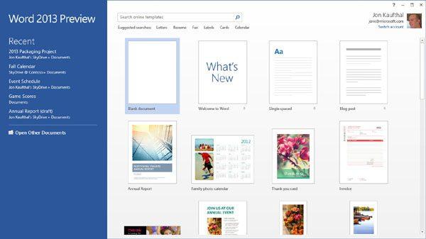 Office 2013 – funcţii noi, utilizare în cloud şi prin gesturi touch