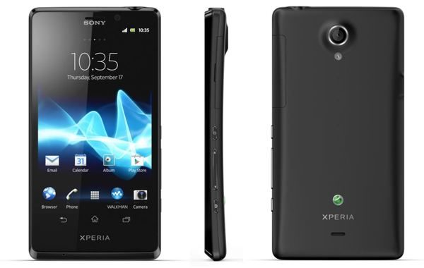 Sony Xperia T - cel mai performant telefon Sony dintre cele lansate la IFA 2012