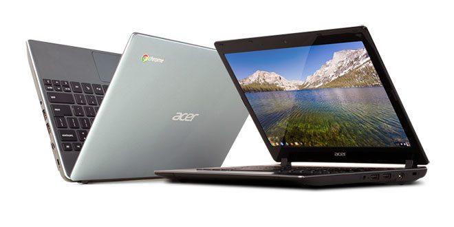 Acer C7 Chromebook – laptop sub 1000 de lei, de la Google