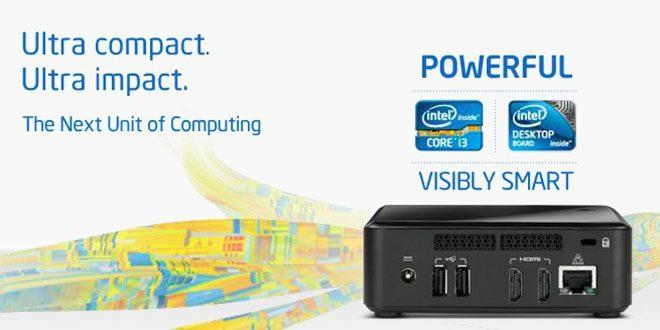 Intel lansează seria mini-PC NUC – platforme compacte cu preţ accesibil