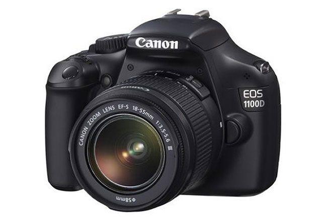 Canon are de asemenea o oferta bogata de DSLR-uri ieftine