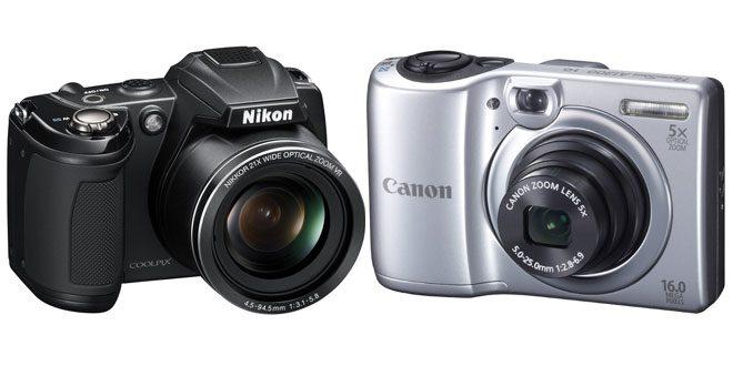 Aparate foto digitale bune şi ieftine – cele mai bune oferte pentru camere foto