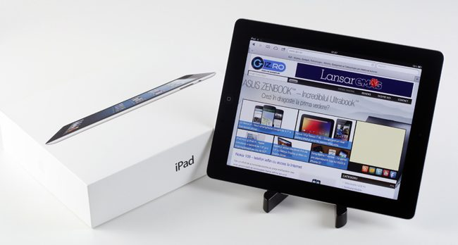 Noul iPad Retina Display - un upgrade
