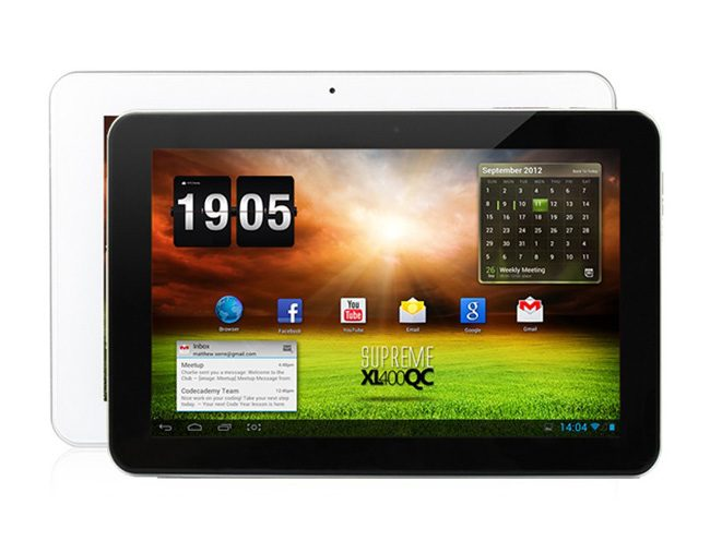 E-Boda Supreme XL400 Quad Core, o tableta quad-core de mari dimensiuni