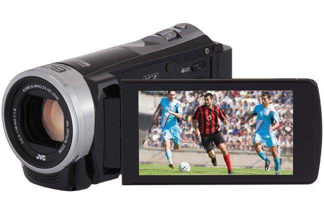 JVC GZ-EX315BEU, o alta camera video de la JVC