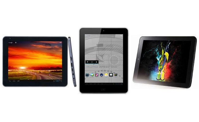Cele trei tablete ieftine se aseamana destul de mult inclusiv la design