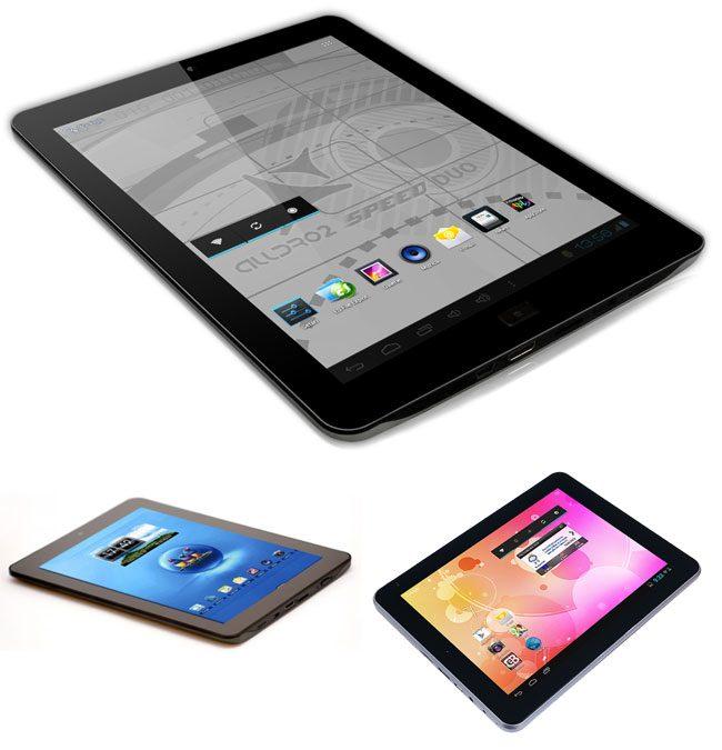 Specificatiile hardware ale celor trei tablete sunt in mare parte aceleasi