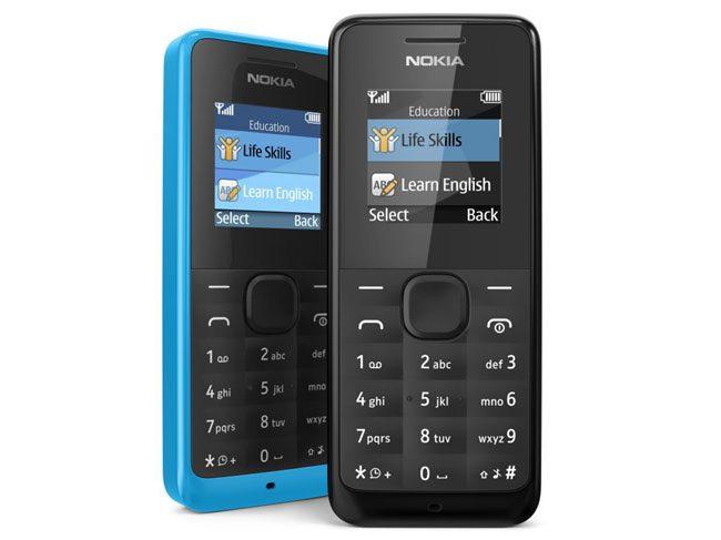 Nokia 105 este cel mai ieftin telefon al producatorului finlandez