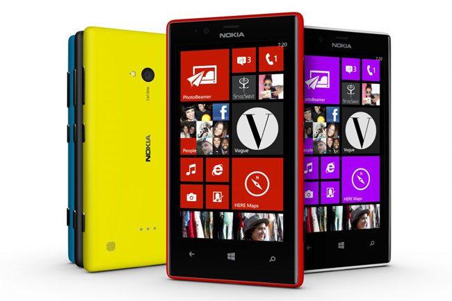 Nokia Lumia 720 este disponibil intr-o varietate de culori