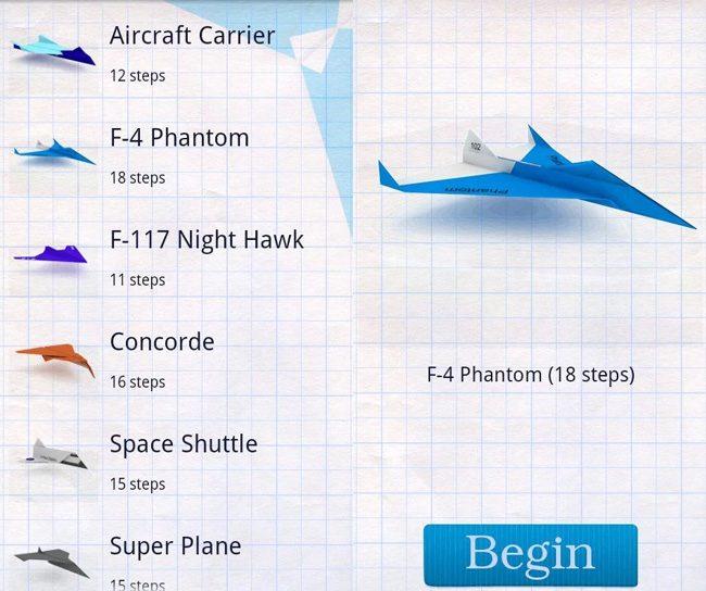 How to make Paper Airplanes, un joc care te invata sa faci avioane de hartie