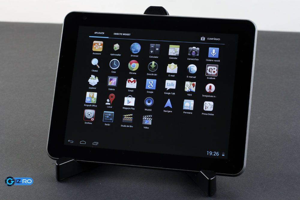 Evolio Aria Mini, o tableta cu un bun raport calitate-pret