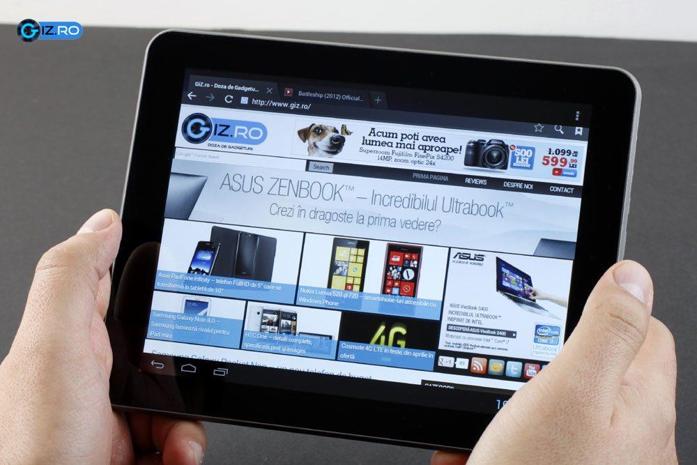 Evolio Aria Mini, o tableta numai buna pentru browsing