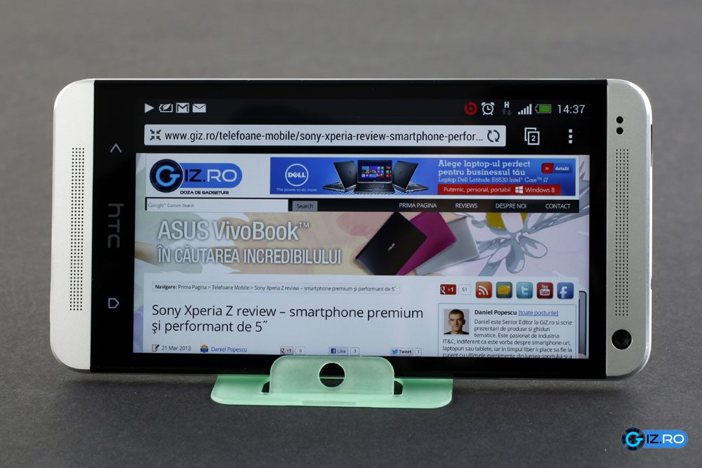 HTC One este, practic, cel mai bun smartphone Android al momentului