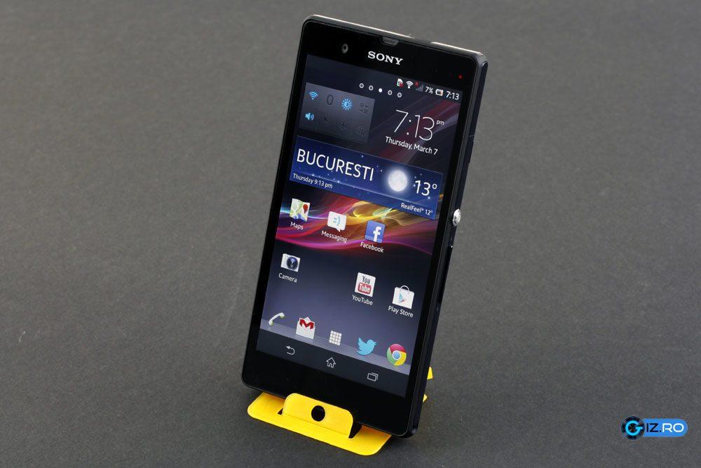 Sony Xperia Z este noul flagship al producatorului japonez