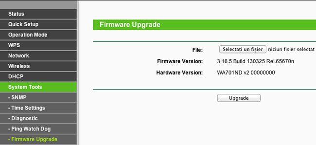 Firmware Upgrade