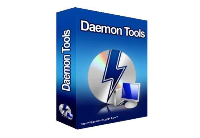 Daemon Tools simuleaza o unitate optica