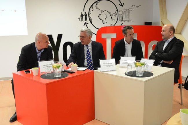 Evenimentul de lansare YouTube Romania