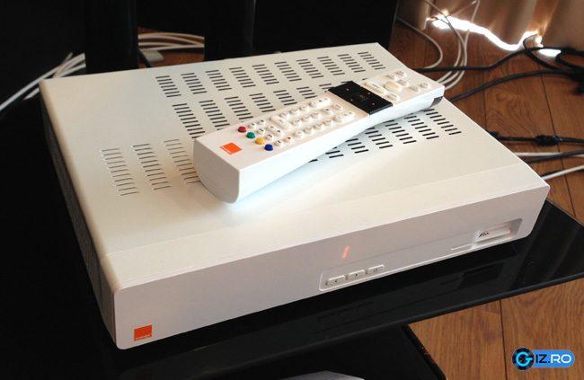 Asa arata echipamentul pentru receptionarea Orange TV
