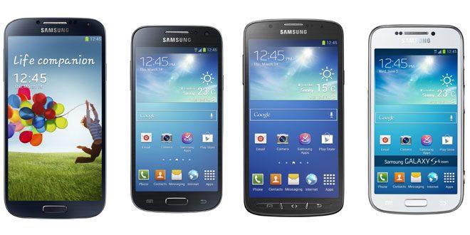 Samsung Galaxy S4 sau S4 Mini sau S4 Active sau S4 Zoom
