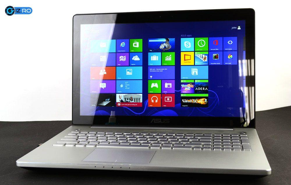 "Asus N550 este un laptop multimedia de 15.6"" cu performante bune"