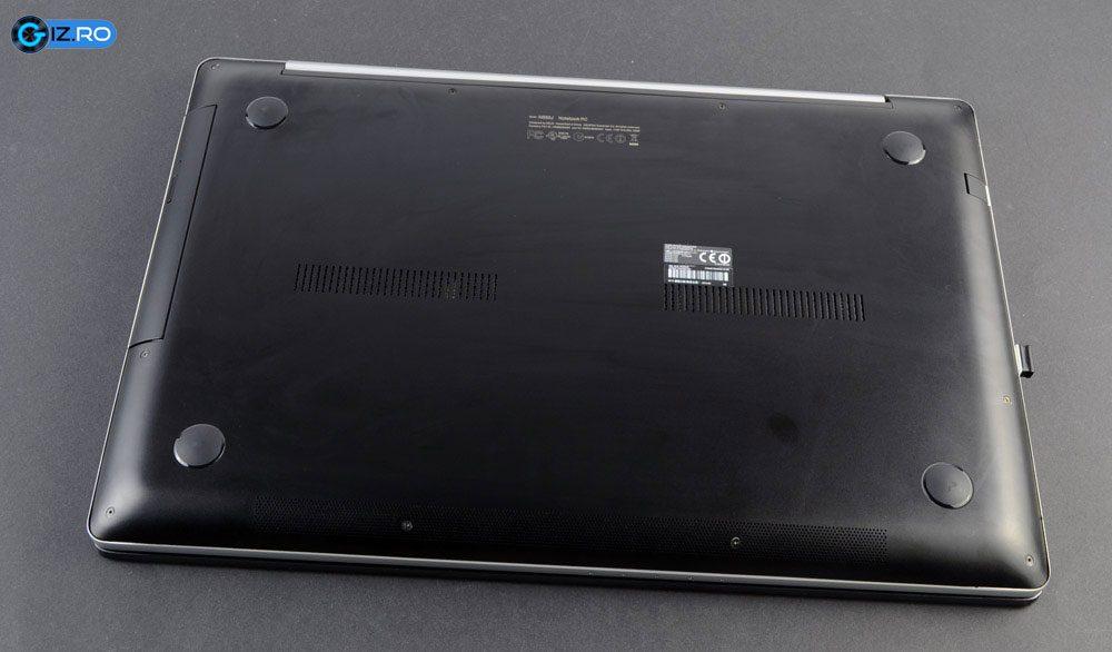 Asus N550 poate fi desfacut cu usurinta cu o surubelnite Philips