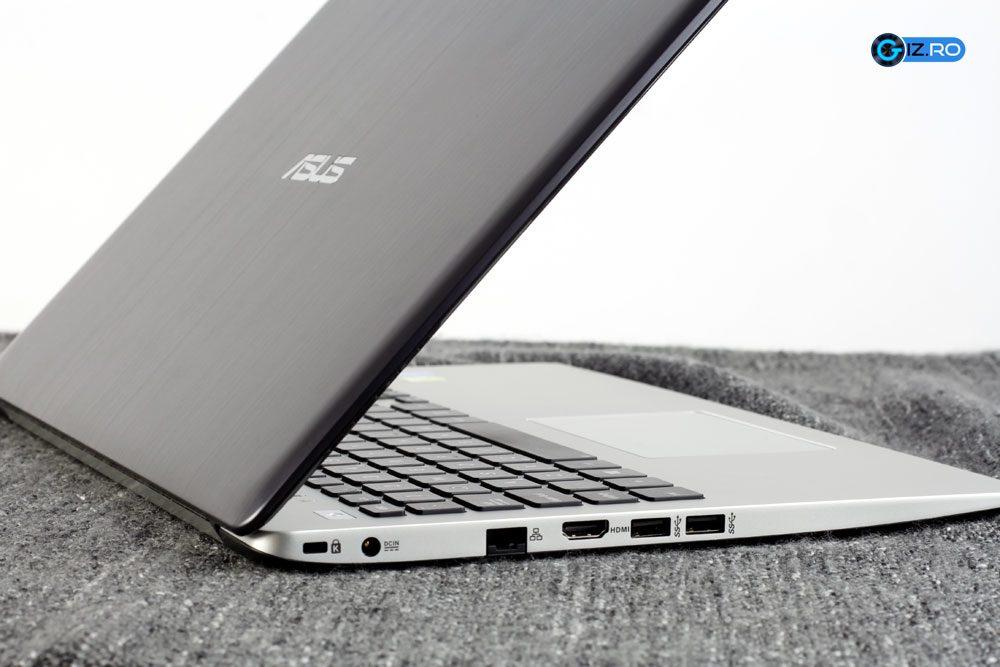 S551 este relativ subtire, in special comparativ cu laptopurile traditionale