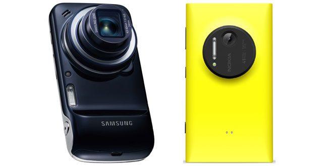 Nokia Lumia 1020 sau Samsung Galaxy S4 Zoom – duelul smartphone-urilor foto