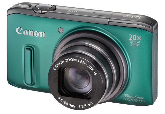 Canon PowerShot SX260HS, camera foto cu GPS