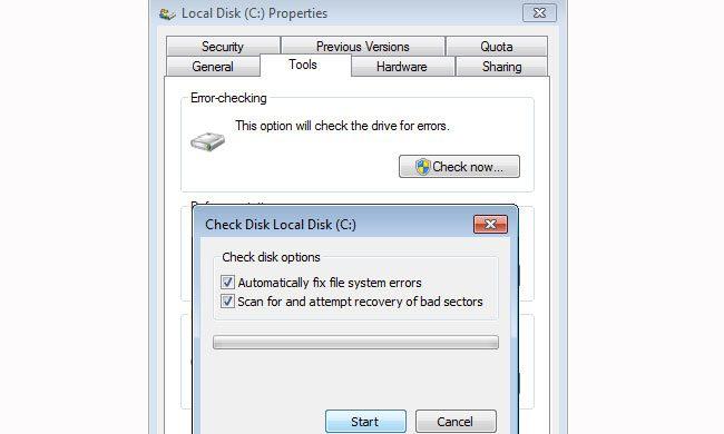 Hard Disk Check