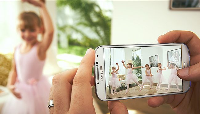 Galaxy S4 are camera cu cea mai mare capacitate, 13 MP