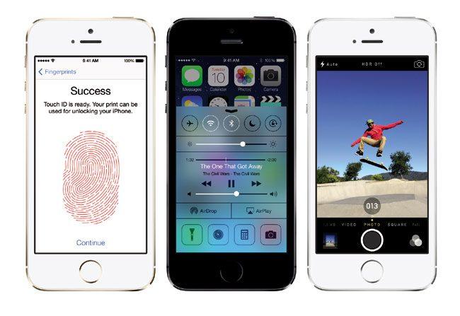 Cititorul de amprente, una dintre principalele noutati de pe iPhone 5S