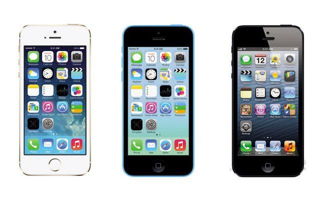 iPhone 5S si iPhone 5C inlocuiesc iPhone 5